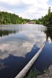 Lake Arber in Bavaria (Grosser Arbersee) Stock Photography
