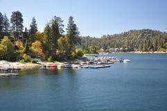 View of Lake Arrowhead Stock Photos