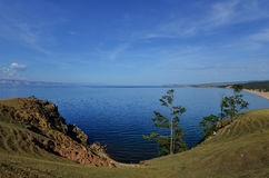 View of Lake Baikal from Olkhon Island Stock Image