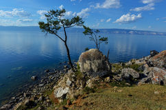 View of Lake Baikal from Olkhon Island Stock Photography