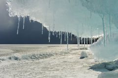 View of Lake Baikal. Siberia. Royalty Free Stock Image