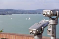 A view of Lake Balaton Stock Image