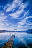 View of a Lake in Bali Stock Images