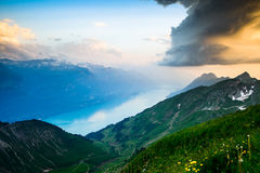 View of Lake Brienz Royalty Free Stock Photo