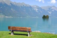 View at lake Brienz Stock Photo