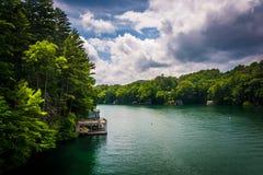 View of Lake Burton, in Northern Georgia. View of Lake Burton, in Northern Georgia Stock Images