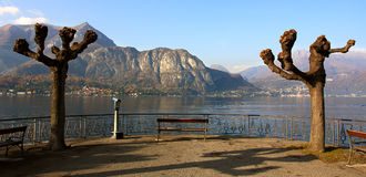 View on Lake Como. Royalty Free Stock Image