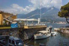 View of Lake Como and Bellagio Town Royalty Free Stock Photos