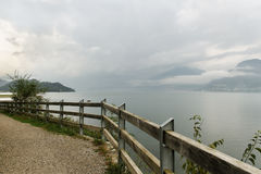 View of Lake Como. Stock Images