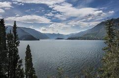 View of Lake Como Stock Photo