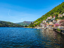 View of Lake Como (HDR) Royalty Free Stock Photo