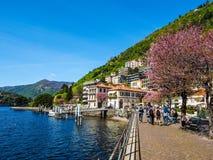 View of Lake Como (HDR) Stock Photos