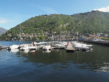 View of Lake Como Stock Photos