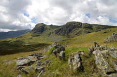 View of the Lake District, England. A photo of the Lake District in England Royalty Free Stock Image