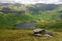 View of the Lake District, England. A photo of the Lake District in England Royalty Free Stock Photos
