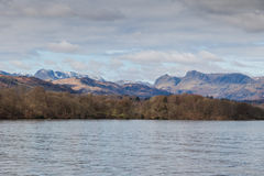 View of the lake district Royalty Free Stock Photography