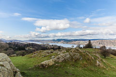 View of the lake district Royalty Free Stock Photo
