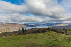 View of the lake district Stock Images