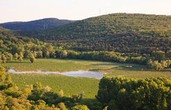View of lake Doberdò Royalty Free Stock Photos