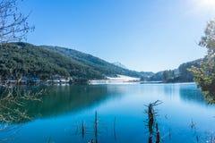 View of Lake Doksa royalty free stock photos