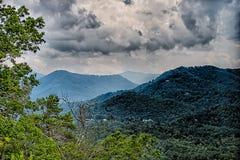 View of Lake Fontana in western North Carolina in the Great Smok Stock Photos