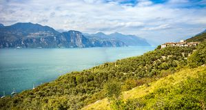 View of Lake Garda. In Italy Royalty Free Stock Photography