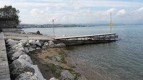 Lake garda italy. View of the lake garda in Italy  country Royalty Free Stock Image
