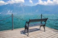 View on Lake garda Lago di Garda, Italy Stock Photography
