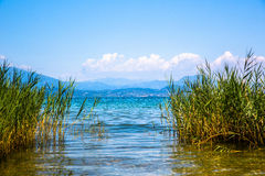 View of Lake Garda Stock Photo