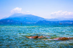 View of Lake Garda Royalty Free Stock Photography