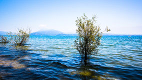 View of Lake Garda Stock Image