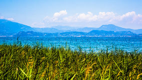 View of Lake Garda Stock Photography