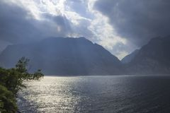 View of Lake Garda stock photos