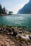 View of the Lake Garda Royalty Free Stock Photo