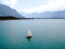 View of Lake Geneva Royalty Free Stock Photo