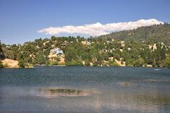 View of Lake Gregory Royalty Free Stock Photography