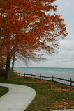 View of Lake Huron Michigan Royalty Free Stock Photos
