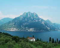 View of Lake Iseo Stock Image