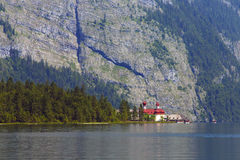 View of the lake of Königsee Stock Images