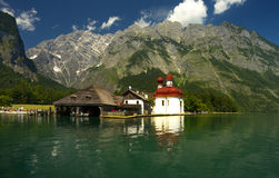View of the lake of Königsee Stock Image