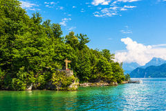 View of Lake Lucerne Royalty Free Stock Photos