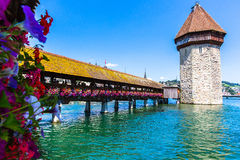 View of Lake Lucerne Stock Image