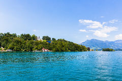 View of Lake Lucerne Royalty Free Stock Photo