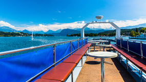 View of Lake Lucerne Royalty Free Stock Image