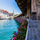 View of Lake Lucerne Stock Images
