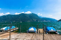 View of Lake Lugano Royalty Free Stock Photo