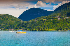 View of Lake Lugano Stock Images