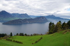 View of Lake Luzern Royalty Free Stock Photography