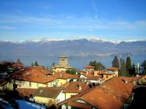 A view of the Lake Maggiore (Lago Maggiore) Stock Photo