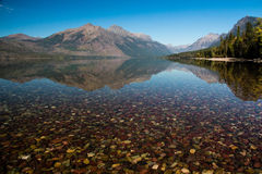 A view of Lake McDonald Royalty Free Stock Image